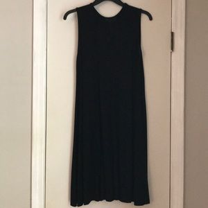 Cynthia Rowley Dresses - Cynthia Rowley black cotton shift dress